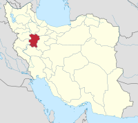 نقشه اتوکد استان همدان-مقیاس 1-250000